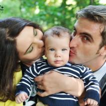 Poze cu familia in parc