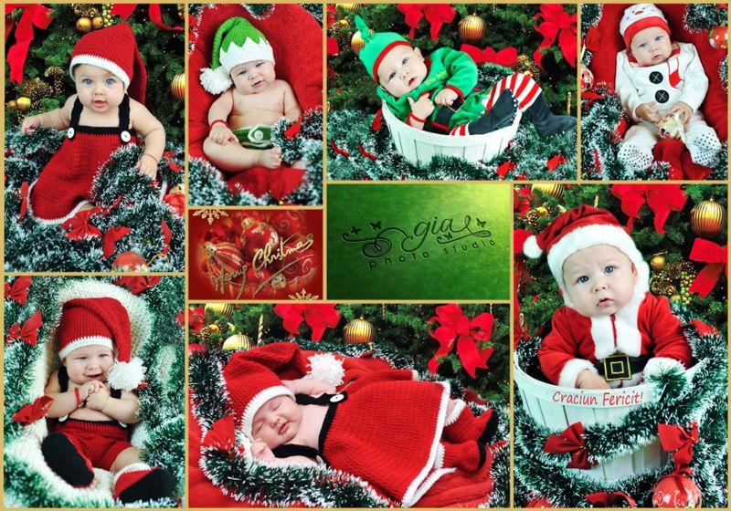 Fotografii bebelusi de craciun – Baby Expo Decembrie 2013