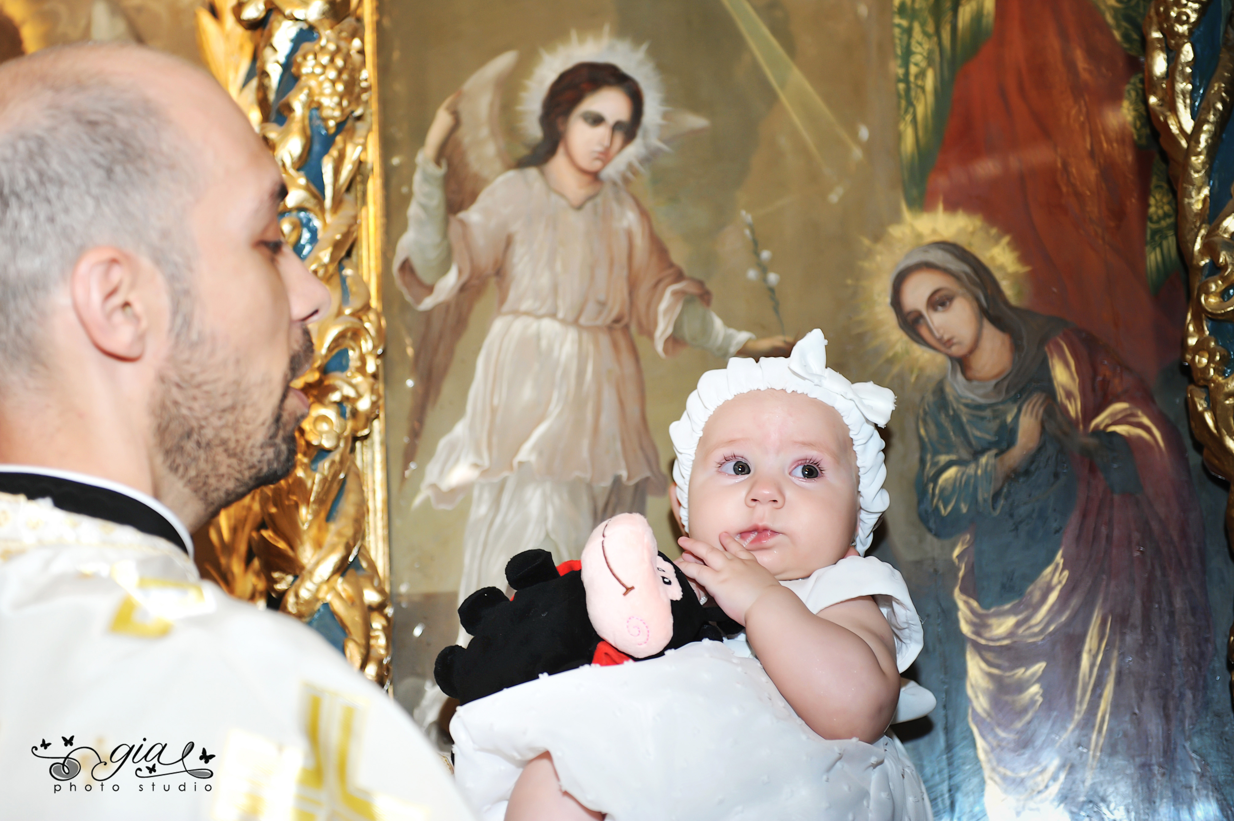 Poza botez biserica GIA STUDIO
