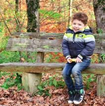 Toamna pe banca – fotografii cu copii – GIA PHOTO STUDIO